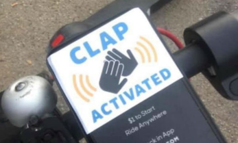 voi clap activated